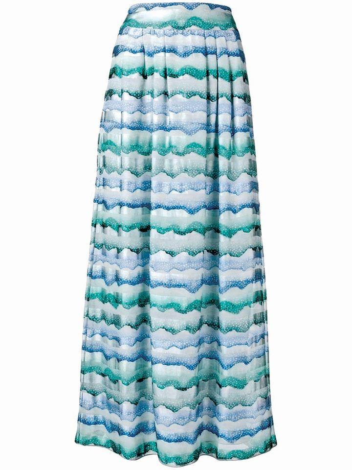«Κυματιστή» φούστα: Το νέο trend του καλοκαιριού! Πως να την φορέσεις!