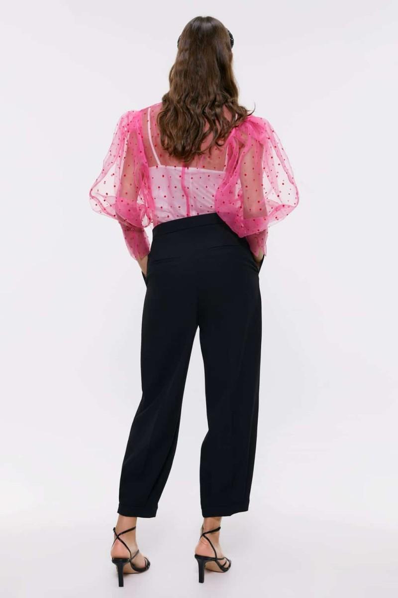 Zara ροζ μπλούζα