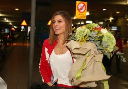 Μαρία Μενούνος: Έφτασε η μεγάλη ώρα! Ήρθε στην Ελλάδα για τον γάμο!