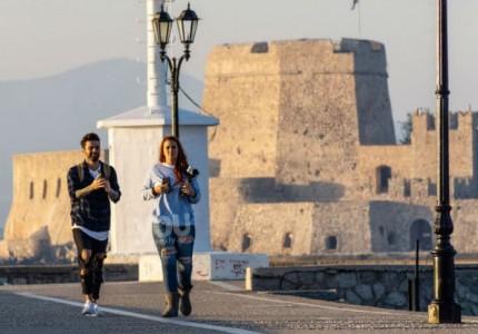 Μαραντίνης - Χρηστίδου: Full in love! Η ρομαντική απόδραση στο Ναύπλιο!