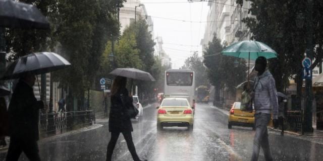 Καιρός σήμερα: Αναλυτικά σε ποιες περιοχές της Ελλάδας θα βρέξει