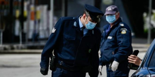 Απαγόρευση κυκλοφορίας: Στις 1.400 οι παραβάσεις - Αυξήθηκαν και οι συλλήψεις