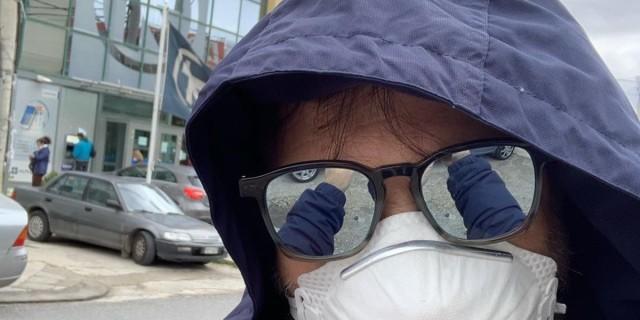 Χρήστος Φερεντίνος: Έβαλε μάσκα και βγήκε έξω - Που πήγε