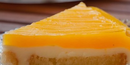 Δροσερό και γρήγορο γλυκό ψυγείου με γεύση πορτοκάλι - Είναι πολύ ελαφρύ