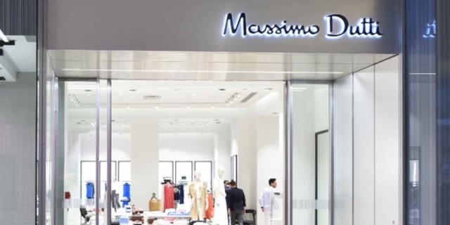 Σε μοναδική απόχρωση αυτό το lingerie φόρεμα από τα Massimo Dutti