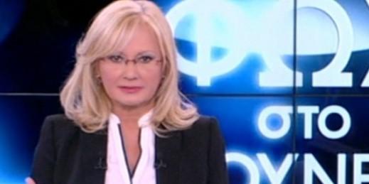 Αγγελική Νικολούλη: Γυναικά οδοστρωτήρας στον ALPHA TV