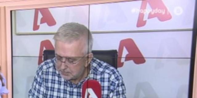 Δήμος Βερύκιος: Συγκράτησε με δυσκολία τα δάκρυα του - Η αποκάλυψη για την υγεία του Δημήτρη Κοντομηνά
