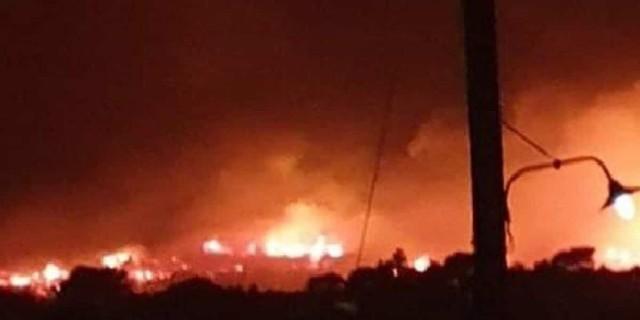 Δύσκολη νύχτα για την Ζάκυνθο - Έδωσαν «μάχη» με τις φλόγες οι Πυροσβέστες