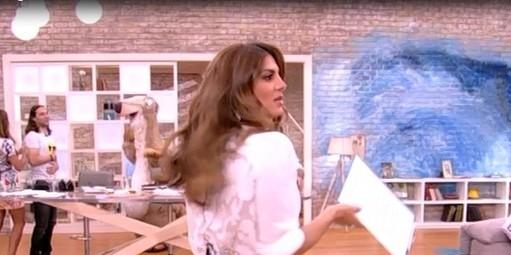Η Σταματίνα Τσιμτσιλή έκανε το απίστευτο - Χαμός στον ALPHA με το Happy Day