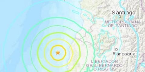 Σεισμός στην Χιλή - Καταγράφηκαν τρομακτικά Ρίχτερ