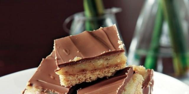 Πειρασμός τα γλυκά μπισκοτάκια με καραμέλα γάλακτος και ζαχαρούχο γάλα - Σε 5 λεπτά μόνο