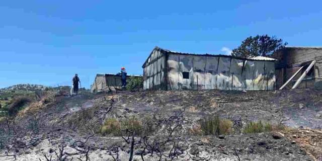 Κόκκινος συναγερμός στην Κρήτη - Ξέσπασε φωτιά στο Μαλεβίζι