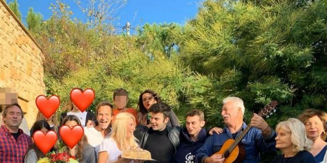 Ελένη Μενεγάκη: Εσπευσμένα όλη η οικογένεια αυτής και του Ματέο Παντζόπουλου στο νησί - Ποιος ο λόγος