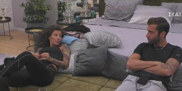 Big Brother: Τα ξεκαθάρισαν Ραμόνα και Κεχαγιάς - Η ιδιωτική συνάντησή τους