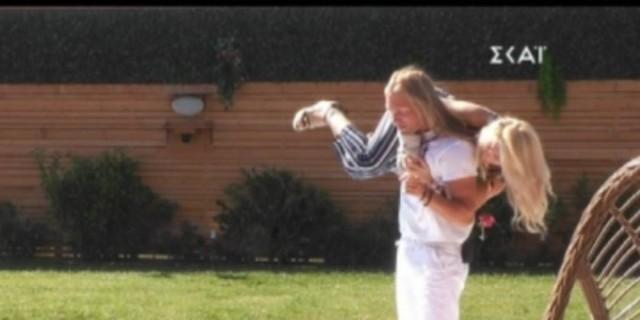 Big Brother: Απίστευτο περιστατικό - Ο Πυργίδης πήγε να ρίξει την Άννα Μαρία στην πισίνα