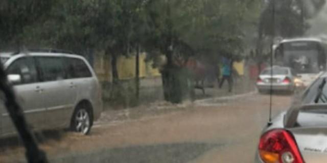 Κακοκαιρία Ιανός - Εκκενώθηκε νηπιαγωγείο στην Λαμία