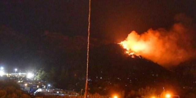Τρεις τραυματίες από φωτιά σε ΚΥΤ της Σάμου