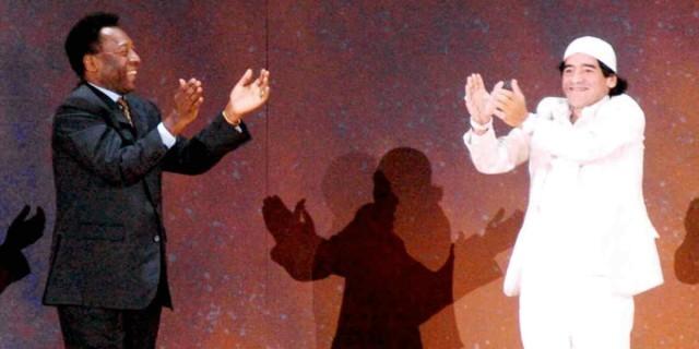 «Ανατριχιάζει» ο Πελέ με το αντίο του στον Μαραντόνα - «Θα παίξουμε μπάλα μαζί στον ουρανό»