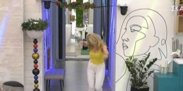 Big Brother: Άλλος άνθρωπος η Άννα Μαρία μετά την αποχώρηση της Ραμόνα - Άρχισε να χορεύει μέσα στο σαλόνι