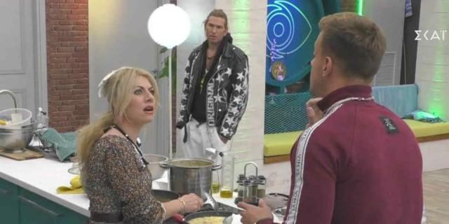 Big Brother: Η σπόντα της Άννας Μαρίας στον Χρήστο -