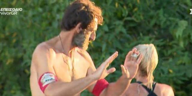 Survivor 4: Δεν έδωσε το χέρι της στον Κοψιδά η Ασημίνα μετά το αγώνισμα