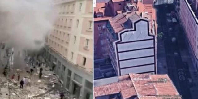 Δυνατή έκρηξη στην Μαδρίτη