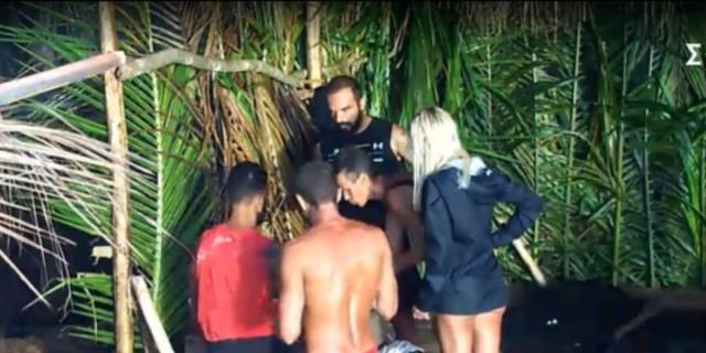 Survivor 4: Παραλίγο να ορμήσει ο Τριαντάφυλλος στον Περικλή