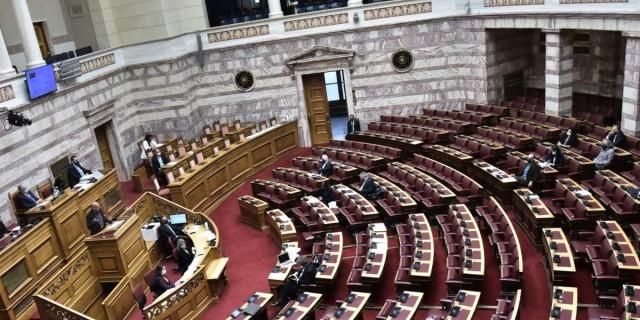 Κορωνοϊός: Τέσσερα κρούσματα στη Βουλή