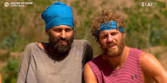 Survivor 4: Το Twitter «έκλαψε» με τον Κρις και τον Άλεξ - «Ο χασοδίκης κέρδισε τη δίκη σήμερα»