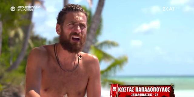 Survivor 4: Τα έβαλε ο Παπαδόπουλος με την Καρολίνα - «Με βουλώνεις, δεν με αφήνεις να μιλήσω»