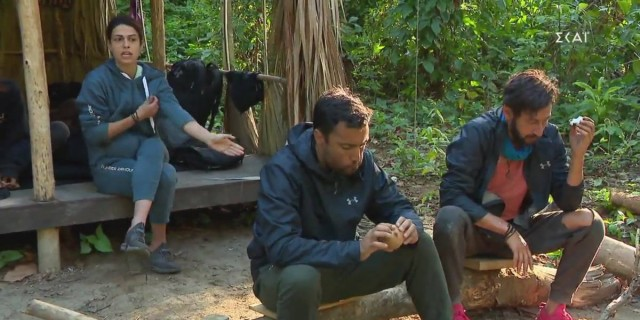 Survivor 4: Ο Ταβλαδάκης «άδειασε» τη Χριστίνα - «Έβαλες στόχο τον Καλίδη»