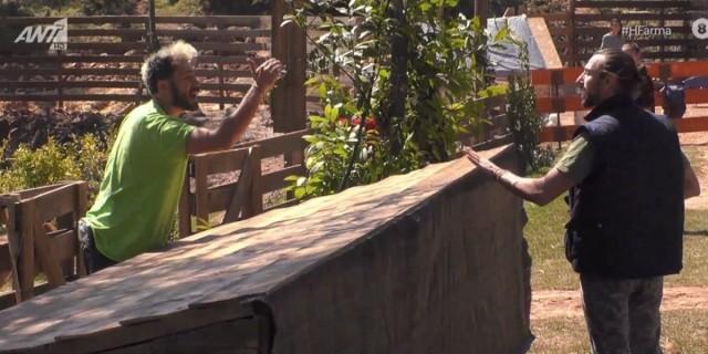 Φάρμα: Έξαλλος ο Μαντζουράνης- «Ντούπη, Βασίλη και Κυριακή είστε ψεύτικοι»