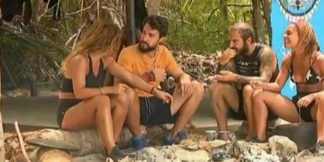 Survivor 4 - Σάκης σε Μαριαλένα: