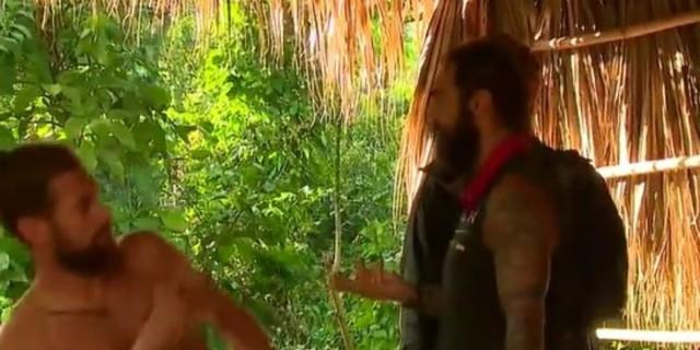Survivor 4 - Χαμός ανάμεσα σε Τριαντάφυλλο, Τζέιμς και Κώστα Παπαδόπουλο: