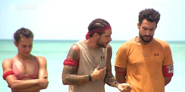 Survivor 4: Επίθεση Σάκη σε Τζέιμς - «Έχεις εκτεθεί μόνος σου»