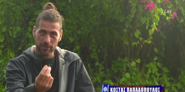 Survivor 4: Συγκινητική η πρώτη ανάρτηση του Κώστα Παπαδόπουλου μετά την αποχώρησή του