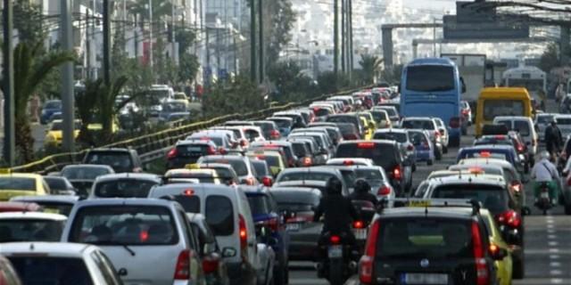 Κυκλοφοριακό κομφούζιο στους δρόμους λόγω απεργίας - Ποια σημεία πρέπει να αποφύγετε