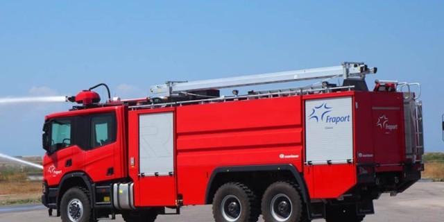 Κρήτη: Μεγάλη φωτιά κοντά στο Πεδίο Βολής Γουβών