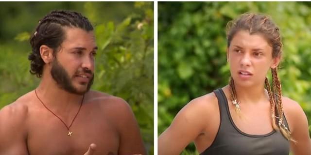 Survivor 4: Επεισόδιο ανάμεσα σε Μαριαλένα Ρουμελιώτη και Γιώργο Ασημακόπουλο