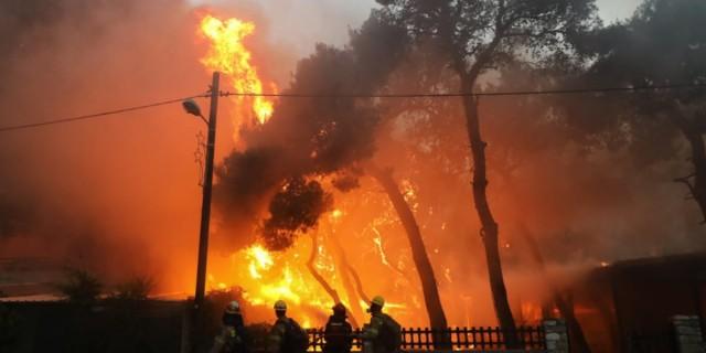 Φωτιά: Εφιαλτική νύχτα για τους κάτοικους της Βαρυμπόμπης, Τατοΐου και Θρακομακεδόνων