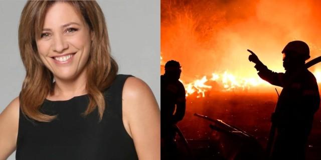 Φωτιά στην Βαρυμπόμπη: Το δημόσιο ξέσπασμα της Μαριάννας Τουμασάτου