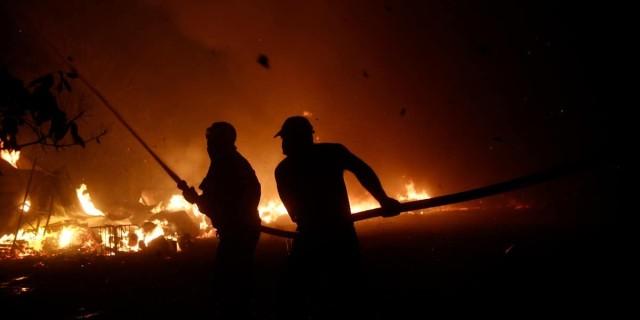 Φωτιά στην Βαρυμπόμπη: Έκτακτη ανακοίνωση από το Εθνικό Αστεροσκοπείο