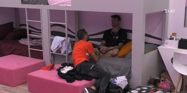 Big Brother 2: Αρπάχτηκαν ξανά Κωστής και Στηβ - «Θέλω να φύγεις! Σήκω φύγε»