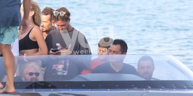 Ηλίας Μπόγδανος: Φωτογραφίες από τις υπερπολυτελείς διακοπές του με το σκάφος του Ατζούν Ιλιτζαλί