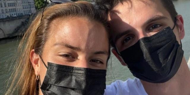 Στιγμές ευτυχίας για τη Μαρία Σάκκαρη και τον Κωνσταντίνο Μητσοτάκη
