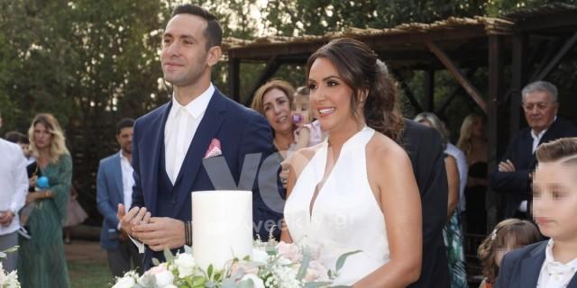 Παντρεύτηκαν η Μάρτζυ Λαζάρου και ο Τάσος Παπαπέτρου