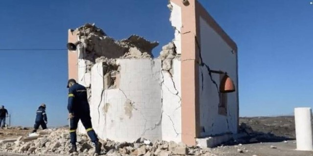 Σεισμός στην Κρήτη: Αυτός είναι ο εργάτης που σκοτώθηκε στην εκκλησία