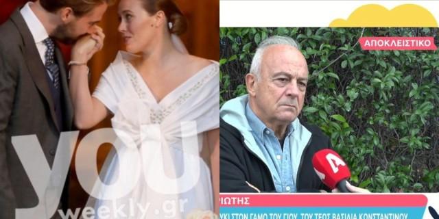 Θανάσης Πολυκανδριώτης: Αποκάλυψε τι έγινε στον γάμο του Φίλιππου Φλυξ Μπουργκ - Νίνα Φλορ