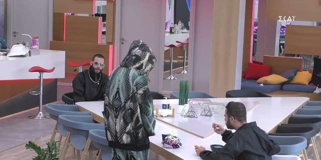 Big Brother 2: Νίκος σε Ευδοκία - «Πολύ παράπονο έχει πέσει»