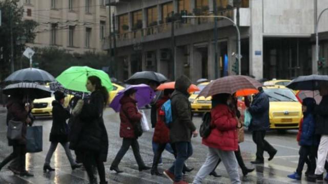 Καιρός: Κατακόρυφη πτώση της θερμοκρασίας! Βροχές και τσουχτερό κρύο...